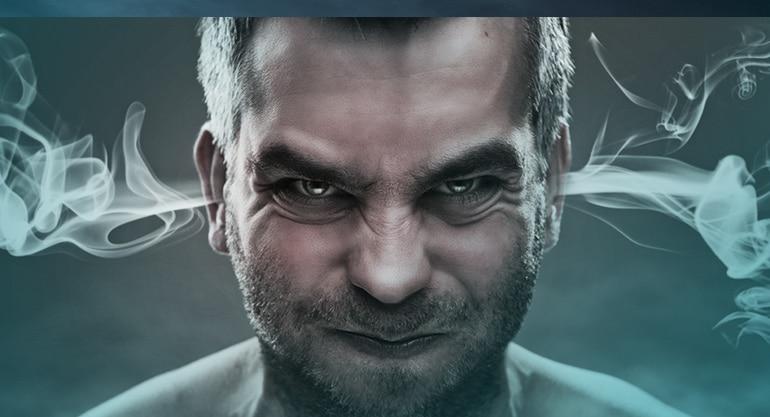 gniew, kłótnia, zdenerowowany mężczyzna