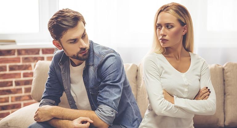 para, kłótnia, małżeństwo, konflikt